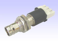Baudcom cost-effective female 75 ohm to 120 ohm IDC balun converter BNC connector