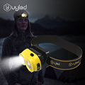 UYLED-H02 Outdoor LED Rechargeable Fishing Headlamp for Camping Hiking