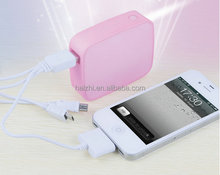 iwave emergency charger 2400mah, 3000mah, 3600mah, 4000mah, 4400mah, 5200mah bread shape power bank