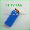 LiFePO4 4s 12.8v 4Ah Battery Lithium Iron Phosphate Rechargeble Battery For Solar System