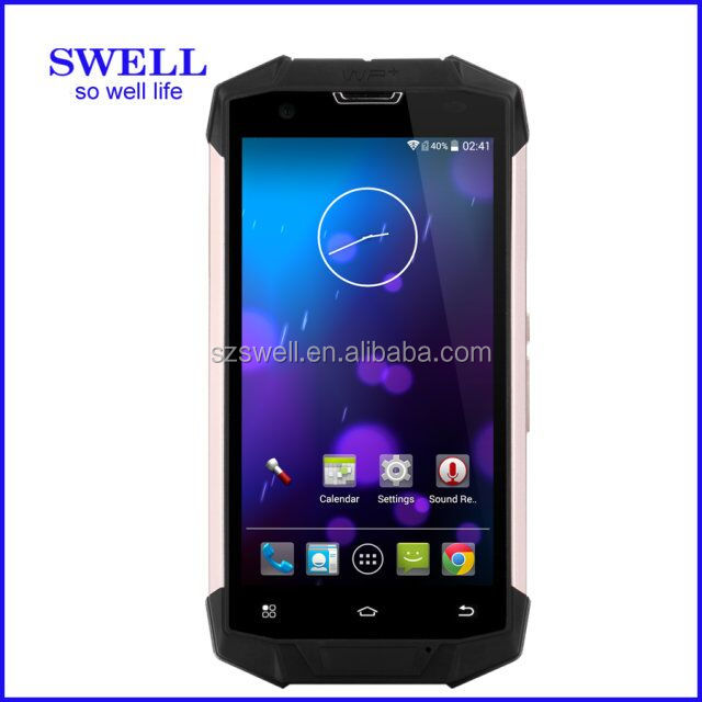 slim rugged smartphone phone 4G New arriving 5inch android 4.4 waterproof IP68 Gorilla IPS screen swell no brand android phones