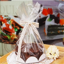 Plastic manufacture cheap price cake pop packaging plastic opp baking bag.freezer pop plastic bags