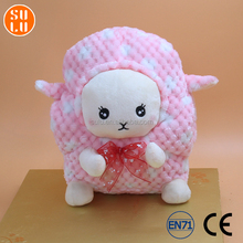 customized cartoon pink coat plush handwarmers muffs
