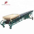 Small mobile rubber mining belt conveyor