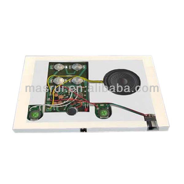 Christmas greeting card / greeting card sound module / lcd greeting card module