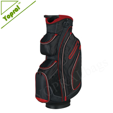 2017 Customized Wholesale Waterproof Golf Bag for cart with Insulated Cooler Pocket