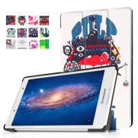 "For Lenovo Tab 2 A8-50F A8-50L PU Leather Tablet Case 8""Inch 360 Degree Rotating Cover For Lenovo Tab"