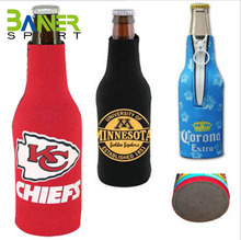 High Quality Easy Wear Beer Bottle Cover with a zipper