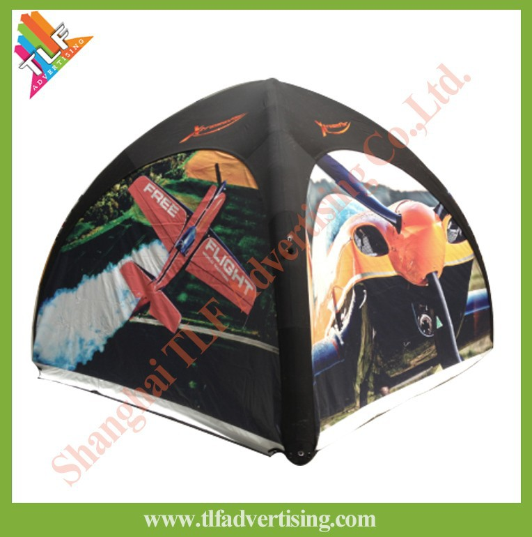 Air ezup tent luxury inflatable tent