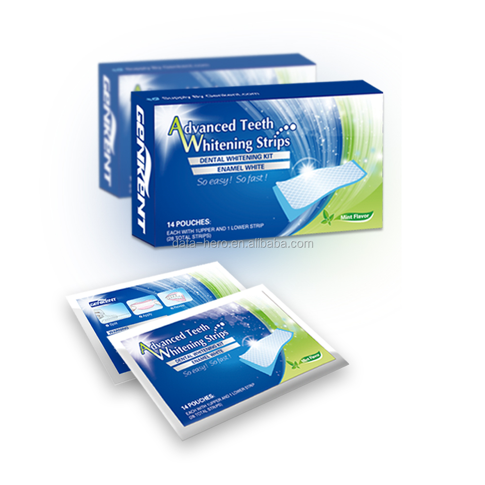 Crest 3D White Whitestrips Professional Effects White Teeth Whitening 1 box 14 pouches 28 strips crest