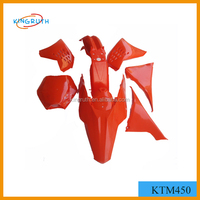 KTM 450 orange abs motorcycle fairings
