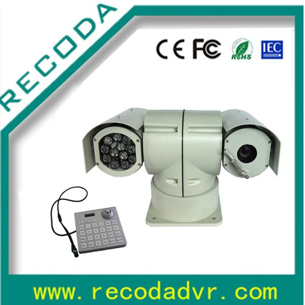 weatherproof Sony CCD infrared auto focus motion tracking PTZ Camera in 700tvl/540tvl/480tvl