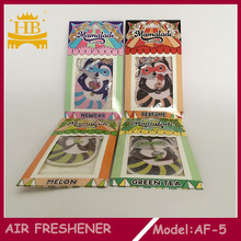 Customize special cheap paper hanging air freshener