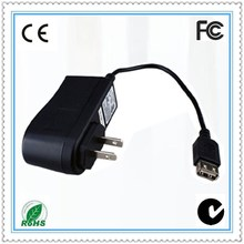 Wall mounted type ac adapter 15v 800ma/ac adapter 10v 1.2a/ac adapter 10v 1.3a