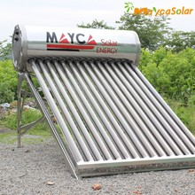 Wholesales vacuum solar collector ,100l water heater solar