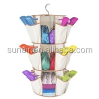 Cheap Price of Smart Carousel Organizer Non-woven Hanging Shoes Organizer