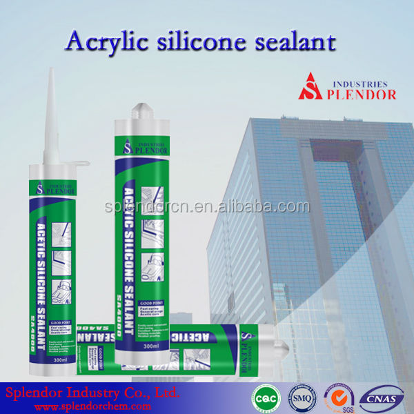 acetic silicone sealant application/acetic silicone sealant glazing windows