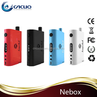 CACUQ best selling vapor mod Kanger Nebox all-in-one kit 60W tc box mod 10ml big tank alibaba new kanger e-cigarette