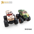 Camouflage cross-country vehicle friction toy truck