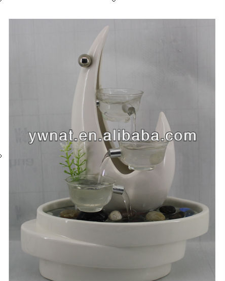 2013 novel Table Mini Top Ceramic indoor Water Fountain