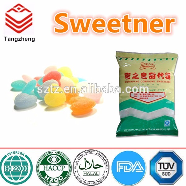 food additives bulk sweetener healthy sugar substance sweetener for drinks /wine / cake /ice-cream