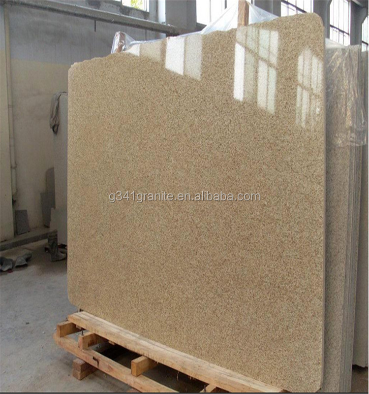 Prefabricated Imperial gold hemp granite tops
