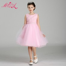Import Designer Clothes Frock Design for Small Girls Wholesale Children Party Dress Wear for Girls LY9802