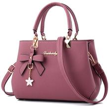 cz1020a New wholesale luxury women bags leather brand 2017 pu zipper bow <strong>handbags</strong> for women