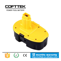 Replacement Dewalt Cordless Drill Battery 18V 3ah Lithium Ion for dewalt combo kit