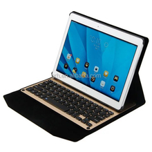 Aluminum Metal Keyboard Leather Case For Huawei MediaPad M2 10 M2-A01W