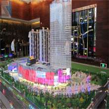Indian Fashionable Building Model for Real Estate,Made in SZJ Architectural Model Company