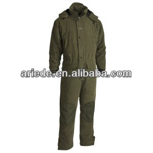 Men's padded winter hunting coverall