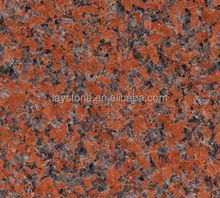 Cheap Maple Leaf Red Kitchen Granite Slabs