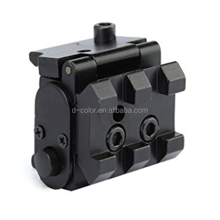 Stock 2018 hotselling laser sight 22mm rail tactical red laser sight
