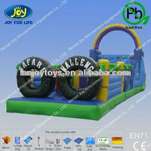 inflatable water obstacles course for summer cool
