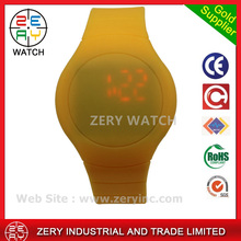 R0476 high quality with competitive price designer watch at cheap, touch LED round case digital designer watch at cheap