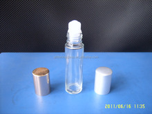 clear Glass Essential Oil Roller ball Bottles 10ml Aromatherapy Glass Roll on Bottles