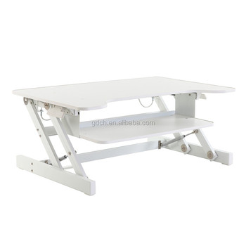 Hight Adjustable computer desk,sit stand workstation,healthy office standing desk