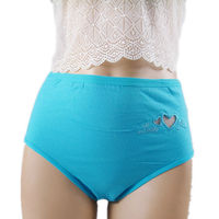 3321 BLUE OEM Service Supply Type and Women Gender design your own panti brand underwear plus size hot for fat panti girl