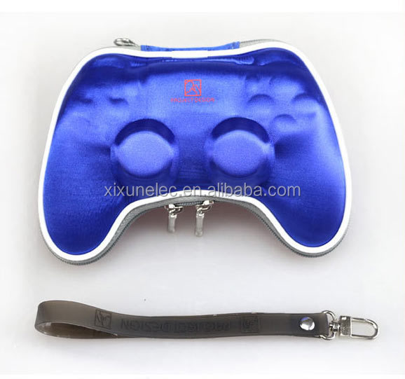 Air Foam Hard Carry Pouch Protective Case Bag for PS4 Wireless Controller