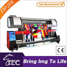 Polyester flag direct printing textile printer sublimation ink double pc3200 heads sublimation printers