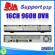 16CH DVR(HVR) with Cloud Technolog, import cctv camera cctv,dvr made in korea