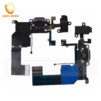 Original Charger Dock Connector Flex Cable For iPhone 5s