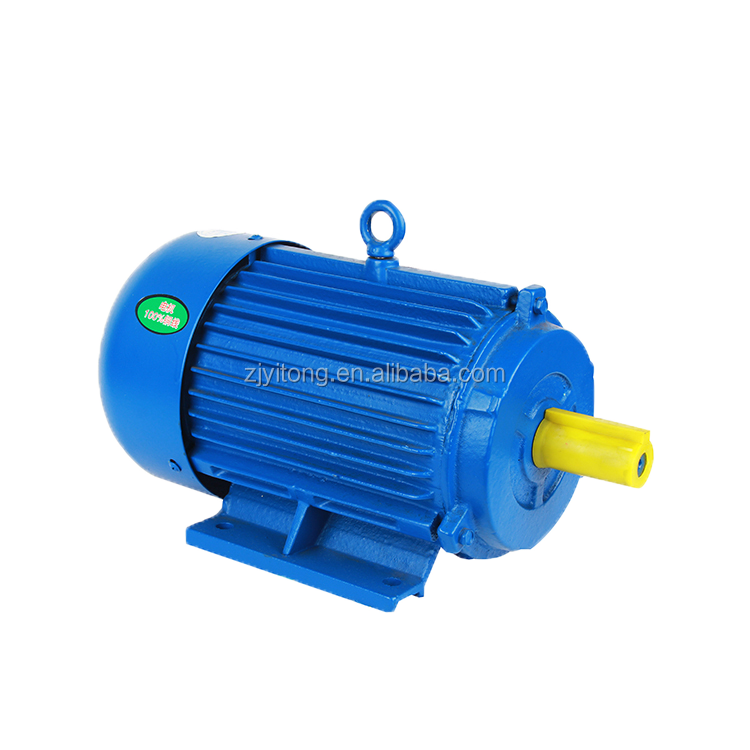 Y2 double speed motor Y2 180L-8/4 11/17KW three-phase two speed motor