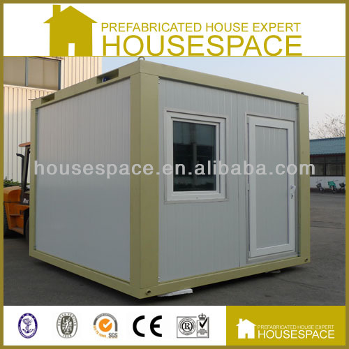 Solid Mobile Steel Prefab Outdoor Security Guard House
