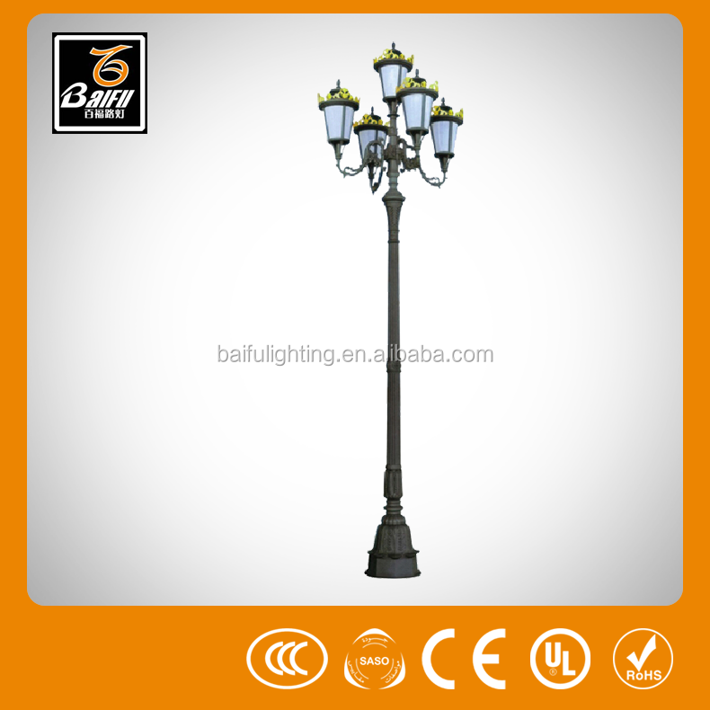 gl 5491 wrought iron outdoor lighting garden light for parks gardens hotels walls villas