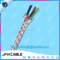 Alibaba china VDE rohs Textile braid rubber cable H03RT-H for electric irons