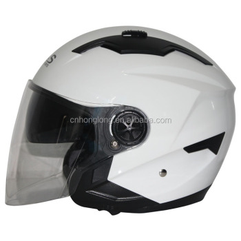 HLS / ZPF Brand,Motorcycle Open face helmet,Double Visor Half face helmet with ECE Homologation Standard