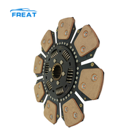 TF1004.211 factory price agricultural machinery clutch disc with copper clutch buttons