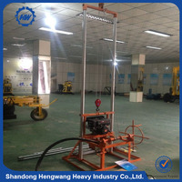 80M Cheap Price Truck mounted rotary water well drilling rig